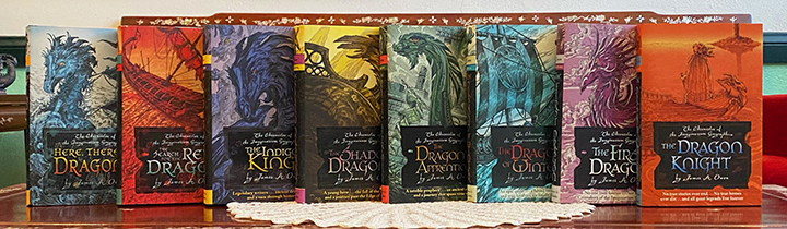 The Complete Chronicles of the Imaginarium Geographica Set, Books 1-8